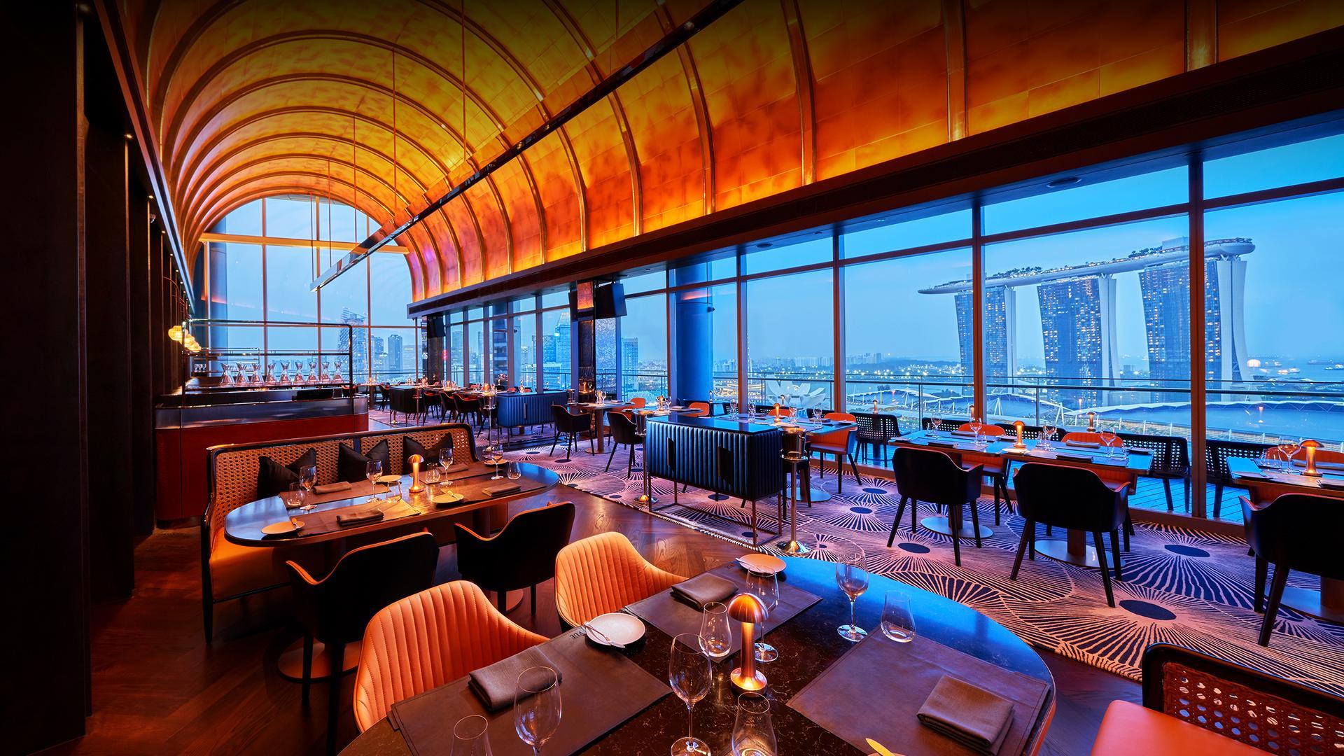 vue restaurant singapore